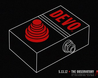 DEVO The Observatory Print/ Poster