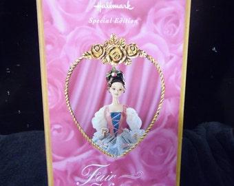 Barbie Hallmark Special Edition 12 Inch Doll Fair Valentine vintage New in box