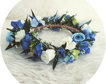 I love.. BAMBINO Baby Blue Flower Crown