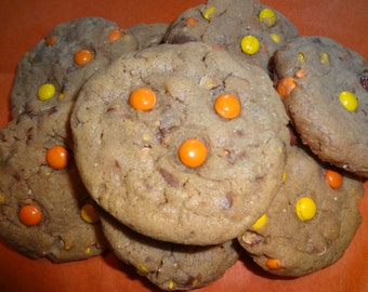 Soft & Gooey Homemade Reese's Peanut Butter Chocolate Pudding Cookies (3 Dozen)