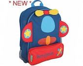 Personalized Flying Airplane Sidekick Backpack