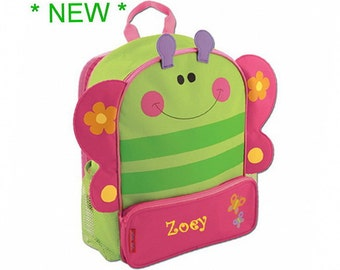 Personalized Fluttering Butterfly Sidekick Backpack
