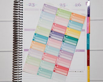 27 To Buy Half Boxes | Planner Stickers designed for use with the Erin Condren Life Planner | 1055