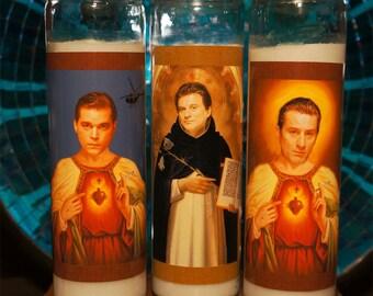 GoodFellas Prayer Candle Set Of 3