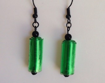 Up-cycled Plastic Bottle Earrings