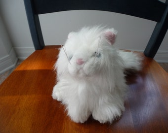 Ganz Persian White Cat