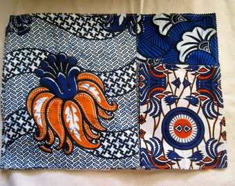 African Fabric Placemats - Set of 2