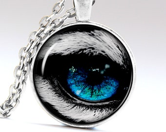 Wolf Eye Jewelry Beast Eye Necklace Tiger eye Pendant Wolf Eye Necklace Wolf Eye Pendant Beast Eye Jewelry Beast Eye Pendant LG234