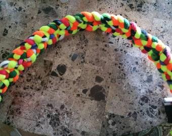 Bright color triple braid tug