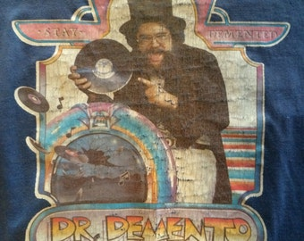 Vintage Dr. Demento Iron On Keep it Demented Shirt Size L
