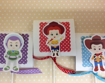 Toy Story Party Lollipop Favors - Set of 10