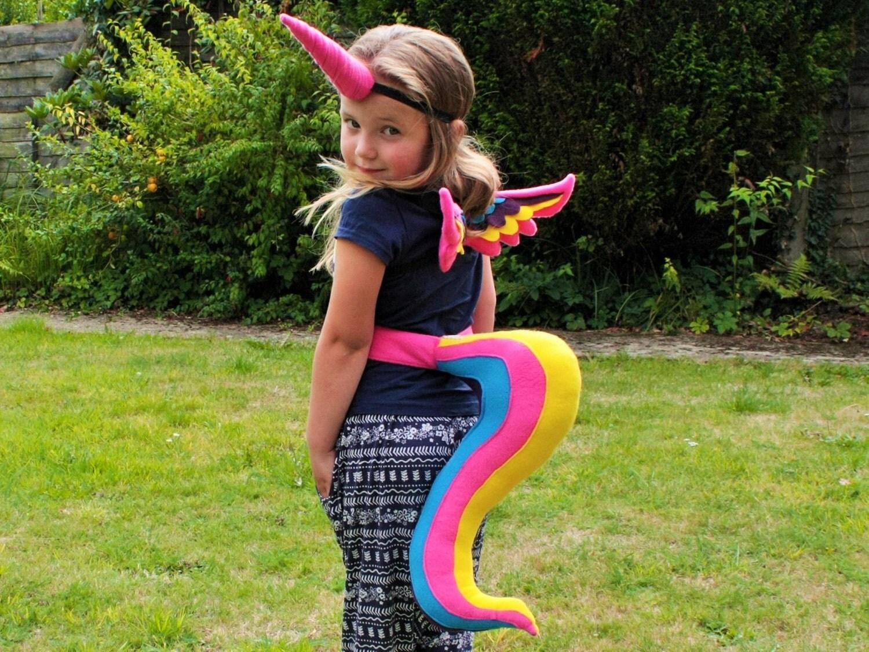 Unicorn Cat Costume For Girl