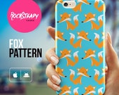 iPhone 6s case Fox Pattern Cute fox iPhone 6 case iPhone 6 Plus case iPhone 5C case samsung s5 case 3d iPhone 6 cover patterned case