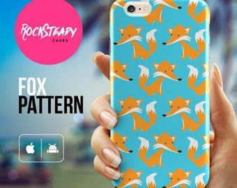 Fox iPhone 6s case, Cute fox iPhone 7 case, iPhone 6 Plus case, iPhone 5C case, samsung s7, s6, s5 case, 3d iPhone 6 cover, patterned case,