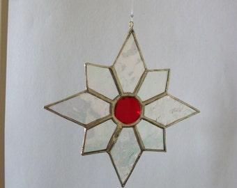 Octagon star ornament