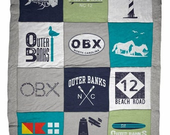 Outer Banks OBX Classic Destination Blanket