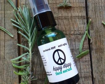 hippy dippy myrrh + carrot face serum