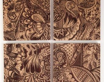 Wood Block Wall Art