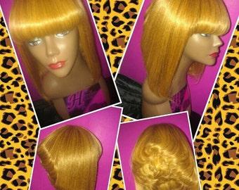 Golden Girl Full Custom Wig