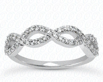 14kt  Gold Diamond Wedding Band #WB5356