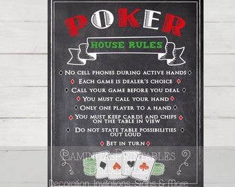 Poker, Poker chips, Poker set, Poker party, poker decor, casino invitation, casino party, casino decorations, casino theme, poker rules