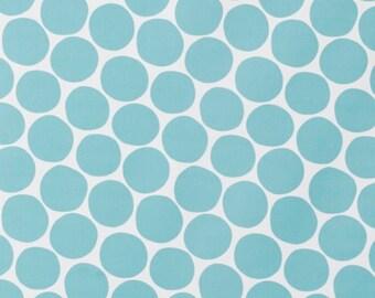 Blue Scandinavian Fabric Nordic Design Polka Dot Fabric Curtain Fabric Tablecloth Fabric
