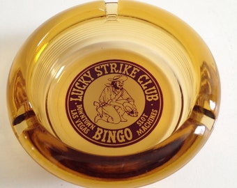 Lucky Strike Club Ashtray