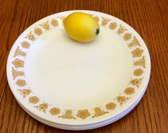 Vintage Corelle Corning Butterfly Gold Luncheon/Salad/Desert/ Plate