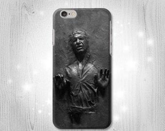 Han Solo Frozen in Carbonite Case iPhone 7 Plus 6 5 4 Samsung Galaxy S8 S8+ S7 Edge S6 S5 Note A7 J7 J3 Htc 10 Asus Google Pixel HTC
