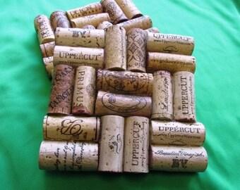 "5"" Square Wine Cork Trivet"