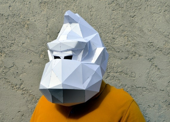 HD wallpapers paper skull mask template