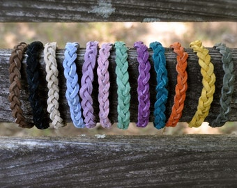 Braided Suede Aromatherapy Diffuser Bracelet