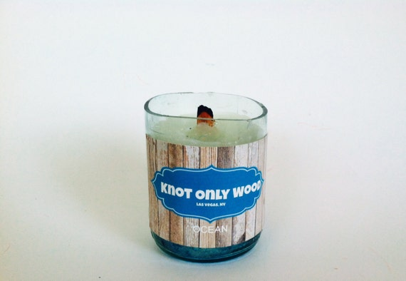Wine Bottle Candle (Choose scent)