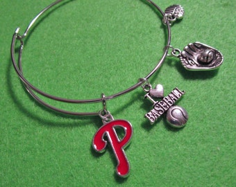 "PHILADELPHIA PHILLIES ""Alex and Ani""  Bracelet"