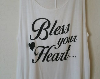 Bless Your Heart Tank Top