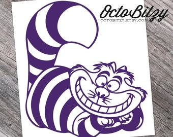 Cheshire Cat, Alice In Wonderland Decal Sticker