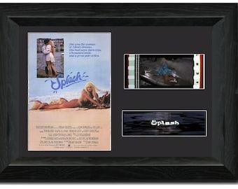 Splash 35 mm Film Cell Stunning display Framed Tom Hanks Daryl Hannah