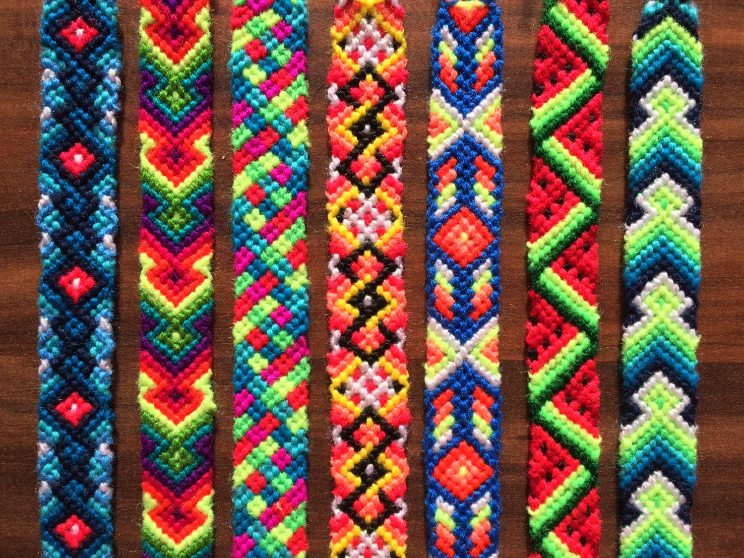 Friendship Bracelet Handwoven Braided Knotted Wrap