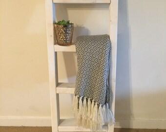 Rustic Ladder, Ladder, Wooden Ladder, Blanket Ladder, Quilt Rack