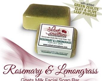 Rosemary & Lemongrass Facial Soap