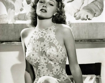 Rita Hayworth You Were Never Lovelier Hollywood Poster Art Artwork Photo 11x14