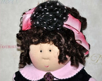 "Little Souls Doll, Little Souls Swanky, Little Souls Maryellen 24"", Gretchen Wilson, Cloth Dolls, One-Of-A-Kind, Dolly Mama, Ooak"