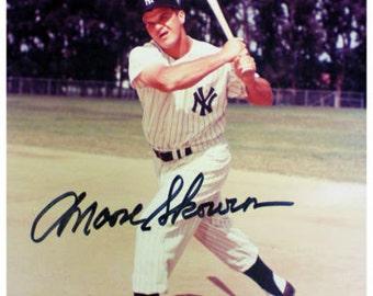 Bill Moose Skowron Autographed 8x10 Photo HOLO & COA