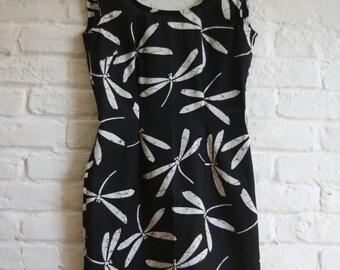 Oriental pattern dress