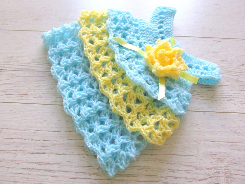 Crochet Ruffle Dress Free Pattern ~ Dancox for .