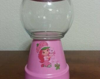 Strawberry Shortcake Gumball Centerpiece