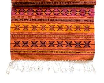 Woolen Rug | Azteca Naranja