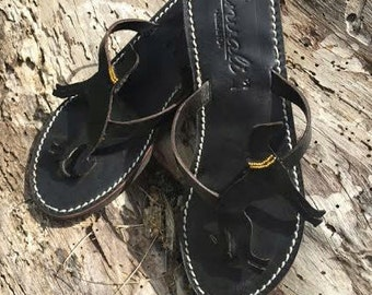 Saluki Flip Flops Sandals Shoes Handmade leather