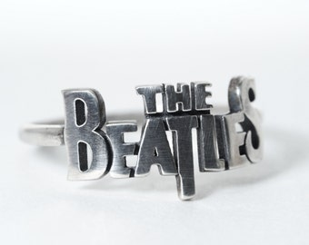 The Beatles Ring Size 4 - 13