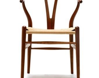 Wishbone chair, Hans Wegner, oak wood
